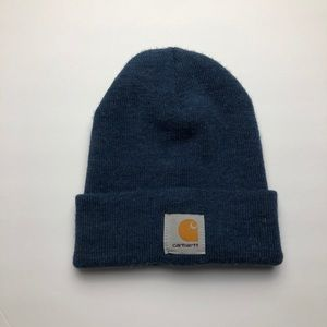 Carhartt Heather Blue Beanie One Size
